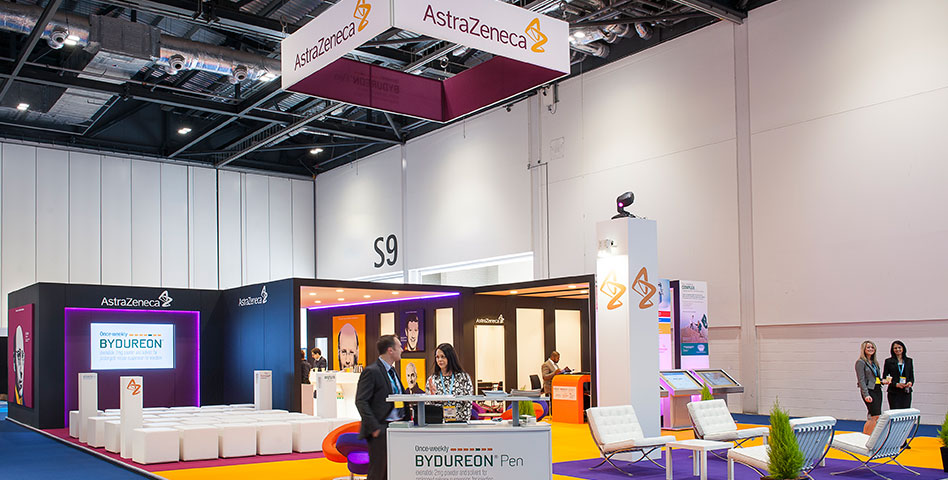 AstraZeneca DUK 2015 - Exhibitions - Production Bureau
