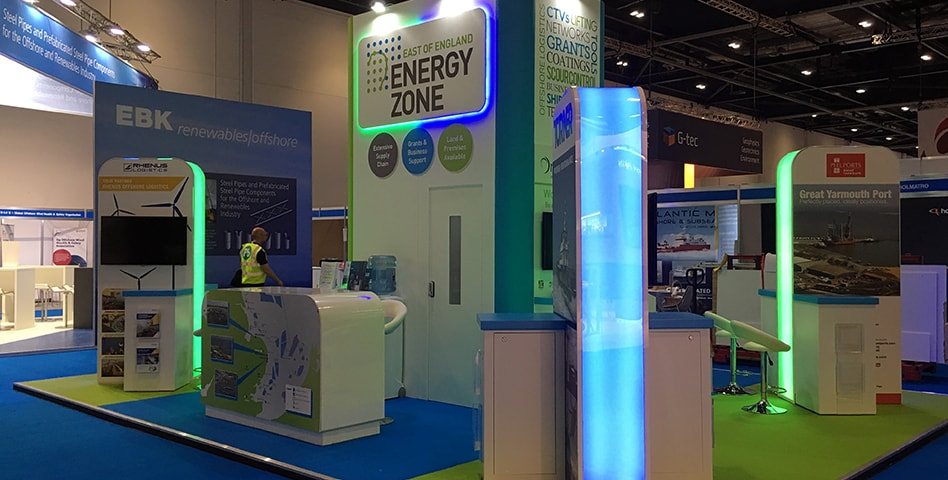 East of England Energy Zone – Offshore Wind Energy Exhibition - Exhibitions - Production Bureau