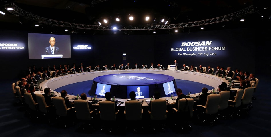Oricom - Doosan Global Forum - Live Events - Production Bureau